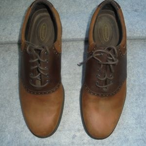 Rockport Men's Oxford Brn/Tan Shoes A7-17